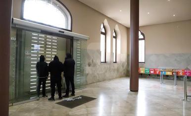Concentració en suport a Pablo Hasél i tancament al Rectorat