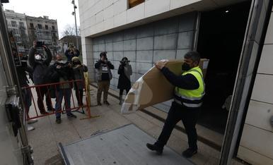 El Museu de Lleida envia cinc lots d'obres més a Aragó
