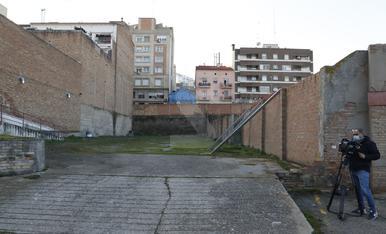 L'interior de l'edifici de La Meta i dels Docs de Lleida