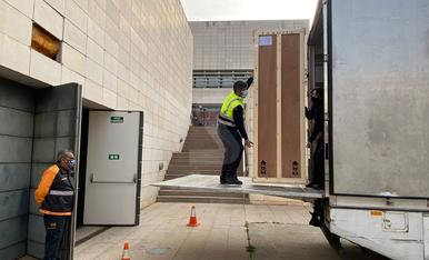 El Museu de Lleida entrega les obres de la Franja