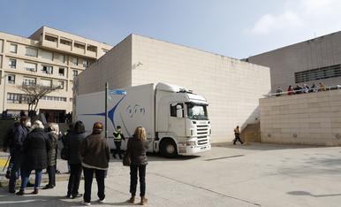 Surten del Museu de Lleida les últimes obres originàries de la Franja