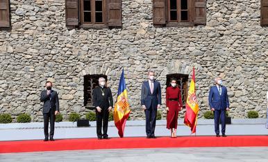 © Els reis aterren a Lleida en el seu viatge a Andorra