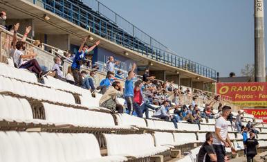 El públic torna al Camp d'Esports un any després