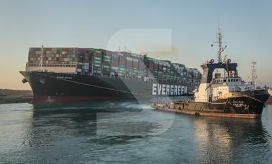© Reobert el canal de Suez