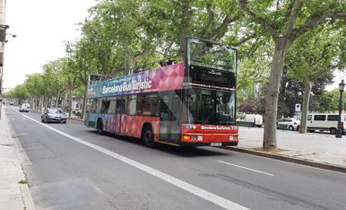 © A falta de turistes a Barcelona