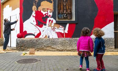 © Art urbà per al Barri Antic