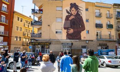 © Art urbà que dona vida al Barri Antic