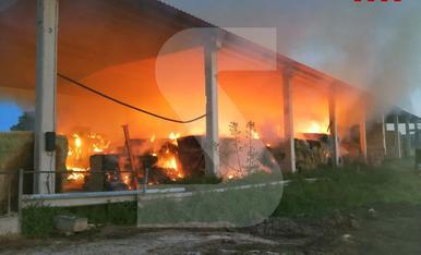 © Aparatós incendi a Alguaire