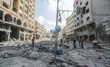 © Clima de guerra entre Israel i Hamas