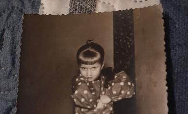 Quina gracia tenia de petita a la festa de Santa Agueda a Mequinensa