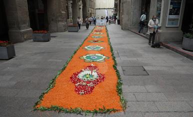 Catifes de flors a Lleida. Corpus 2021