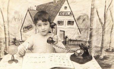 la meva foto típica que feien als col.legis any 1970
