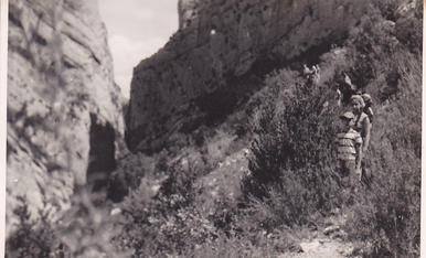 Excursió des de les Mines de Corçà al congost de Montrebei