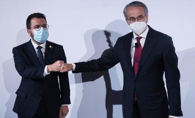 Aragonès insta al Estado a llevar una propuesta a la mesa de diálogo