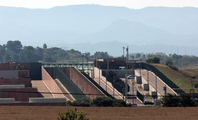 Vista del centre penitenciari 'Els Lledoners'.