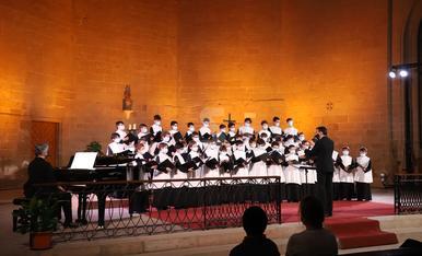 © La Escolania de Montserrat canta en Balaguer