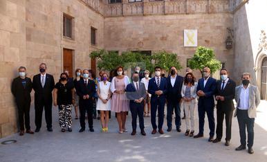 © Generalitat y Parlament reciben a los expresos