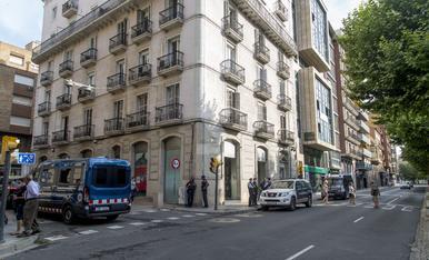 © Desalojan un local okupado en Ferran