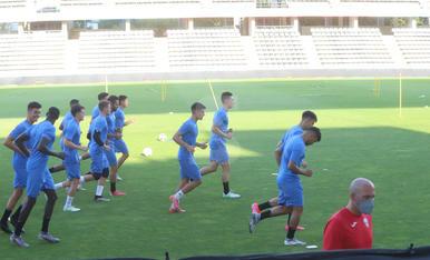El Lleida Esportiu es posa en marxa