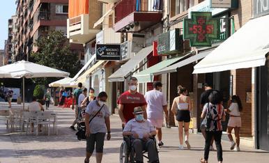 Retrats de la calor a Lleida