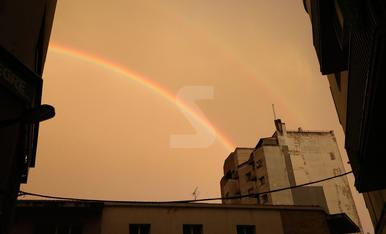 Arco Iris en Lleida