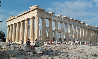 El Partenó. Atenes
