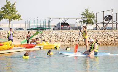 Actividades acuáticas en los 2Llacs