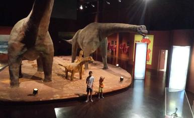 Vacances entre dinosaures a Galve (Teruel)