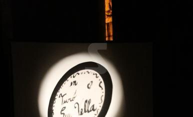 "Luna llena ""chinesca"" en el claustro de la Seu Vella"