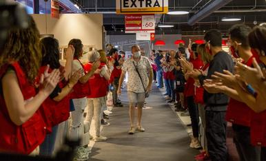 Inauguració de Conforama a Lleida