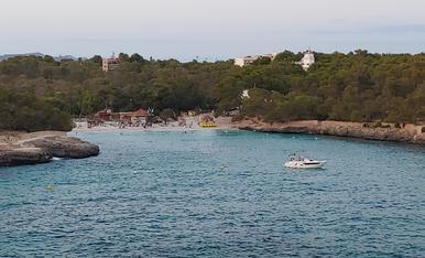 Vista d'una cala a Mallorca