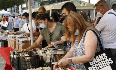 Mercado de la rambla Ferran de Lleida