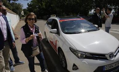 El servei de taxi a demanda a l'Horta es va estrenar el 2019.