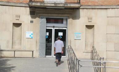 Imatge de l'entrada del CUAP de Prat de la Riba.