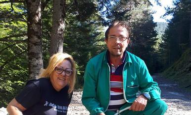 Bon inici de temporada. El Sisco i la Cris han disfrutat d'un dia fantàstic al bosc.