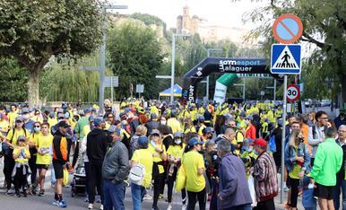 Onada de solidaritat a Balaguer al Posa't la Gorra