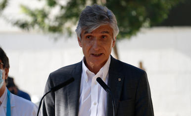 El conseller de Salut, Josep Maria Argimon, en una imatge d'arxiu.