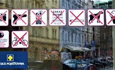 A la republicà txeca ho tenen clar: no volen que entris amb armes a les sucursal bancaries