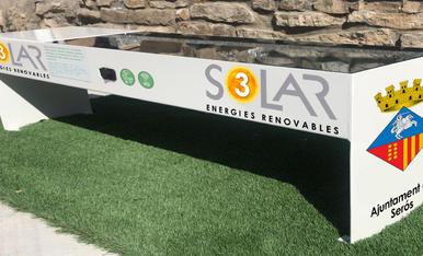 El banc solar presentat a Municipàlia.