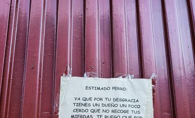 En un magatzem d'un carrer de Lleida...