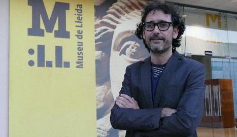 El conservador del Museu de Lleida Alberto Velasco, amenaçat per una demanda de Sixena.