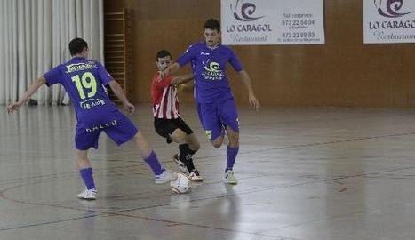 Lo Caragol perd 4-5 davant de l'Esplugues en l'inici de la Lliga
