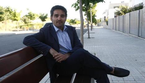 Alejandro Martínez Alfonso, el dia que va ingressar a la presó.