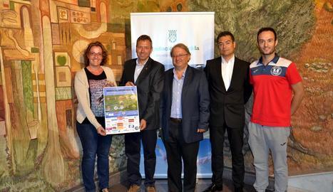 La Diputació va acollir ahir la presentació del torneig.