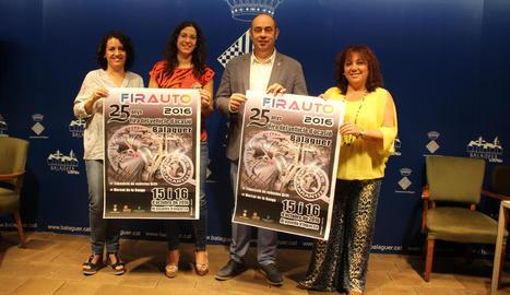 Presentació del certamen aquesta setmana a Balaguer.