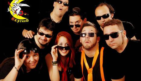 Imatge promocional del grup lleidatà Bruixa Express.