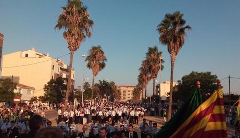 Trobada de Bandes de Catalunya, dissabte passat a Deltebre.
