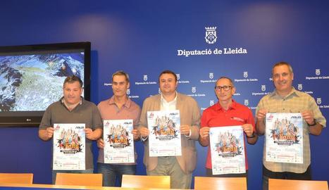 La prova es va presentar ahir a la Diputació de Lleida.