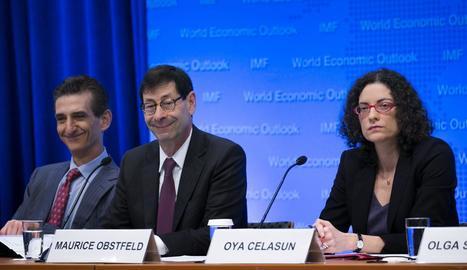 L'FMI va revisar ahir a l'alça el creixement de l'economia espanyola.