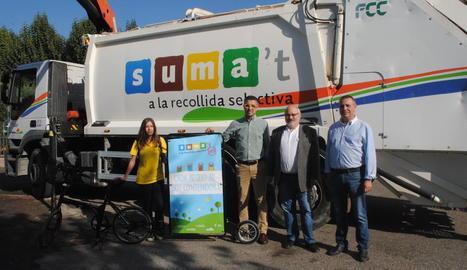La presentació de la campanya a Vila-sana.